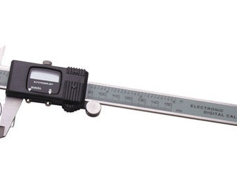 DIGITAL GAUGE with Stone Holder - LCD Display - With Case For Protection Plus Spare Battery