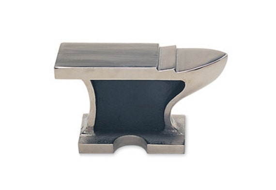 ANVIL - FLAT 3.5 LB - Cast Steel - Great for Shaping Metal or as a Bench Block - Jewelry Tools for Metal Working