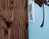 100 custom tags, center-fold style, super fast, made in usa, by gutentags