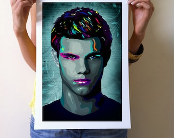 Twilight Art print Jacob Black wall decor