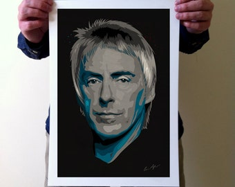 Paul Weller Art Print - A3 Portrait