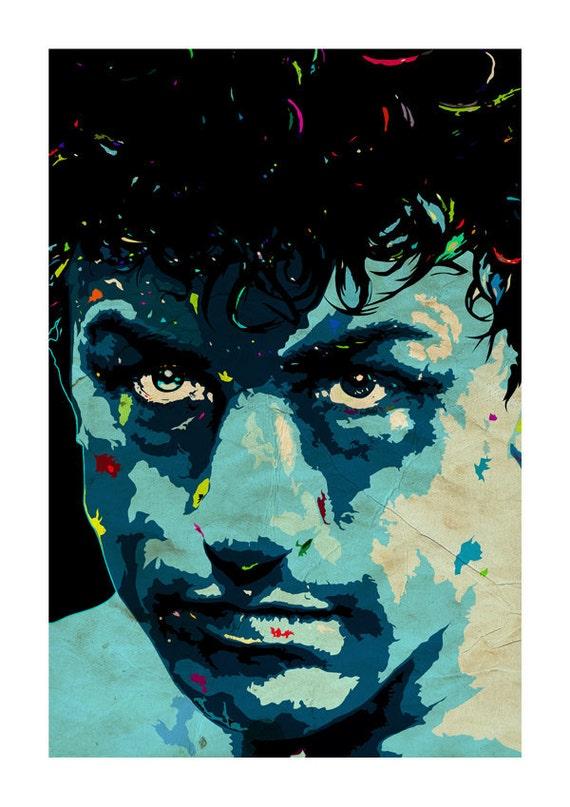 Raging Bull  De Niro Art Print -A3 Portrait