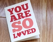 You Are So Loved - Set of 5 Note Cards