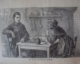 1871  The Hoosier  School - Master   book