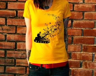 Army Tank Dandelion Women's T-Shirt