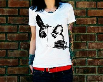 DJ Hummingbird Women's T-Shirt