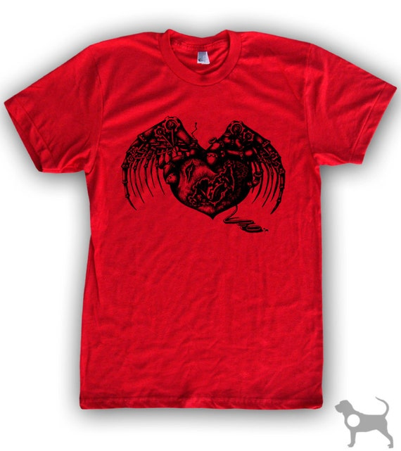 Steampunk Heart Men's/Unisex T-Shirt