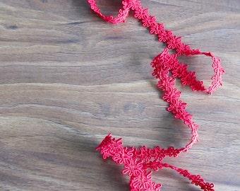 Festive Trim - Gimp trim - Red gimp trim - Decorative trim