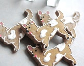 Corgi Gingerbread Decorated Cookies