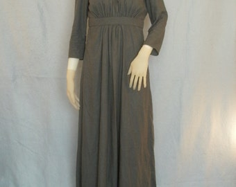 Sense and Sensibility style, modest, womens dress-- Regency style dress-- Ball Gown, Modest Dress