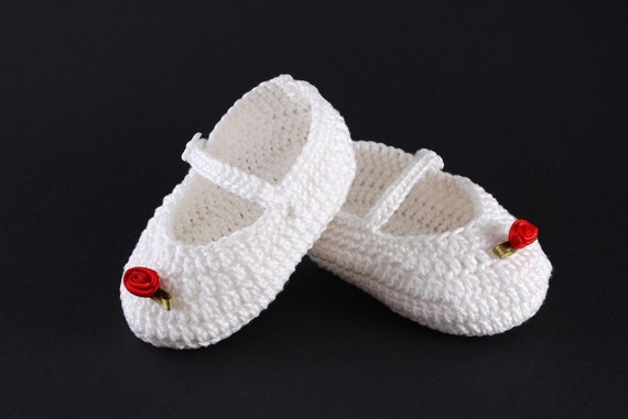 Baby Mary Janes PDF Crochet Pattern