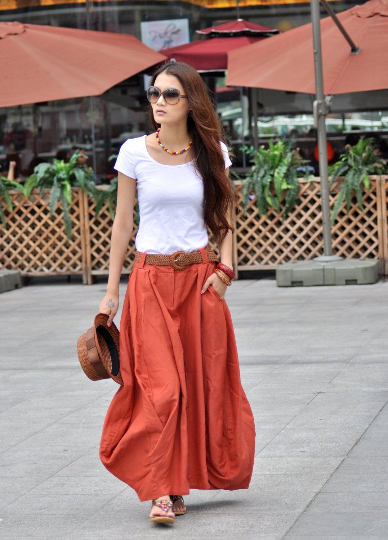 Long Maxi Skirts | Gommap Blog