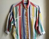 DVF Striped Blouse