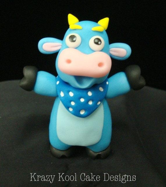 Benny From Dora The Explorer Cake Topper