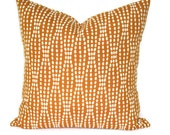 Decorative pillow  Accent Pillow  Throw Pillow  Pillow Cover 18x18 20x20 12x20  Lumbar Pillow Strands Tiger Lily  Mango Pillow Cushion