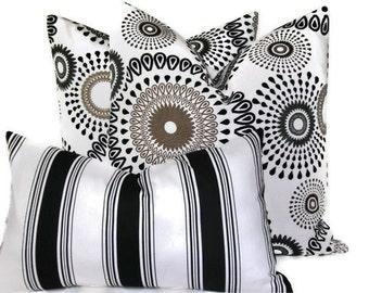 Decorative Pillow  Pillow Cover Accent Pillow  Pillow Set  FREE LUMBAR PILLOW  Throw Pillow  Radius Pattern P Kaufmann Pillow