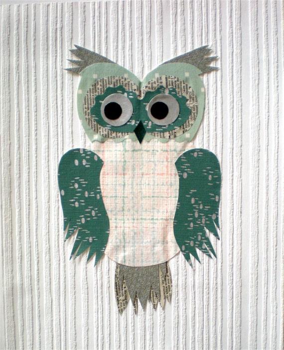 Vintage owl wallpaper - photo#21