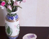 Victorian Calling Cards on Butlers Tray in 1 Inch Scale for Dollhouse Miniature Roombox