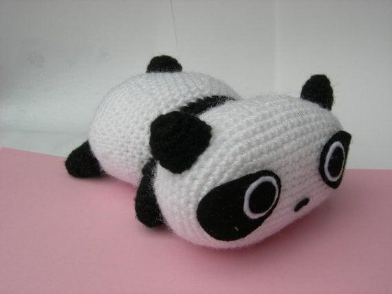Amigurumi Tarepanda : Tare panda crochet amigurumi by Poolvoss on Etsy