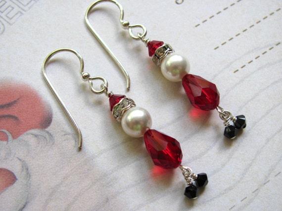 Santa face, Earrings and The ear on Pinterest