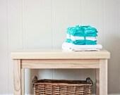 Solid Ash Mudroom or Bathroom Bench