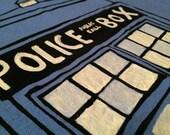 Doctor Who Tardis shirt