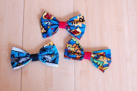 Super Heroes Bow Bundle (3 bows included)