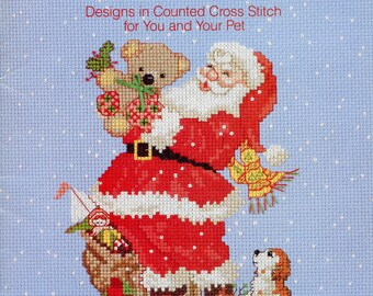 1986 Joy of Christmas Pet Counted Cross Stitch Designs