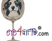 AUSTRALIAN SHEPHERD Personalized Balloon Wine Glass