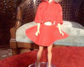 Vintage Barbie ice skating outfit