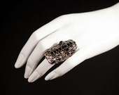 Modern Medieval - Small Cross Baroque style Ring 847RNG