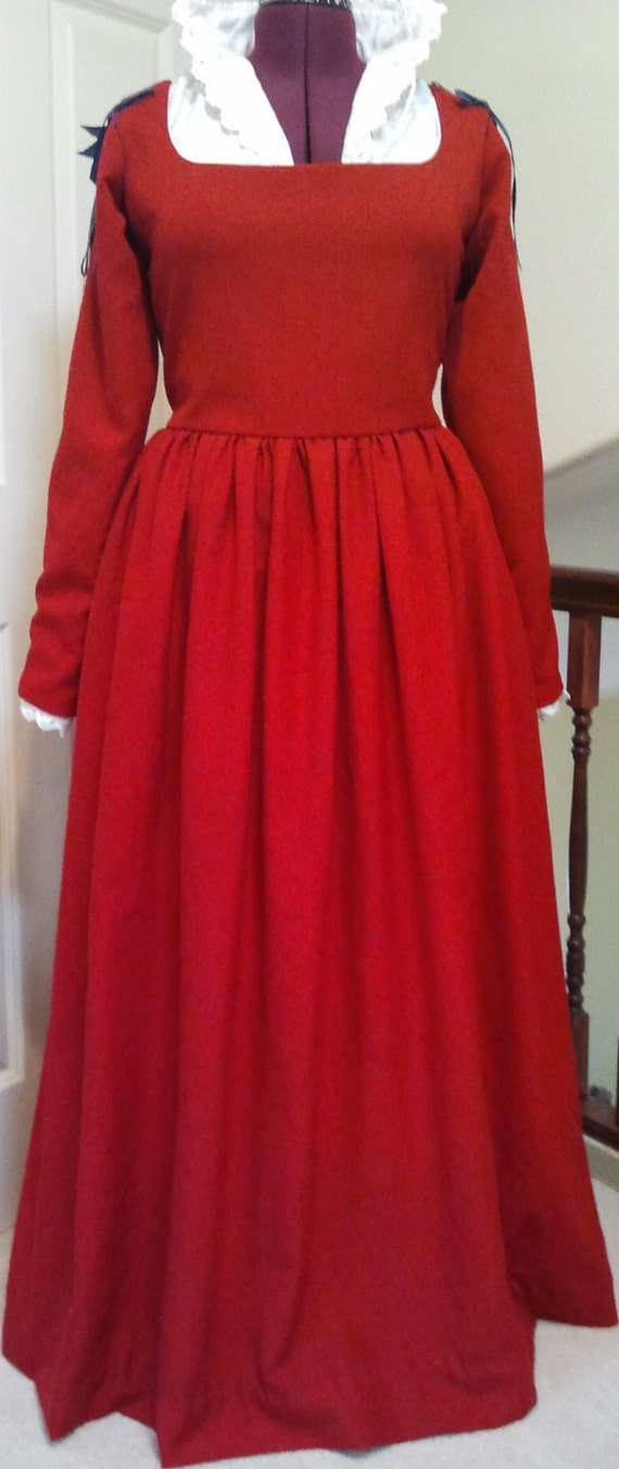 Italian Dress in Wool - Large - Ready to Ship