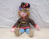 Doll Russian Boy / Traditional Russian Costume / Prince Peasant / Collectible