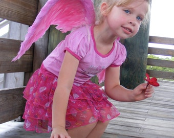 Costume Wings - Pink - 4T-5T