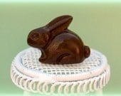 Chocolate Bunny Ring: Perfect for Easter, Spring, and chocolate lovers