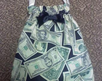 Handmade wedding money bag