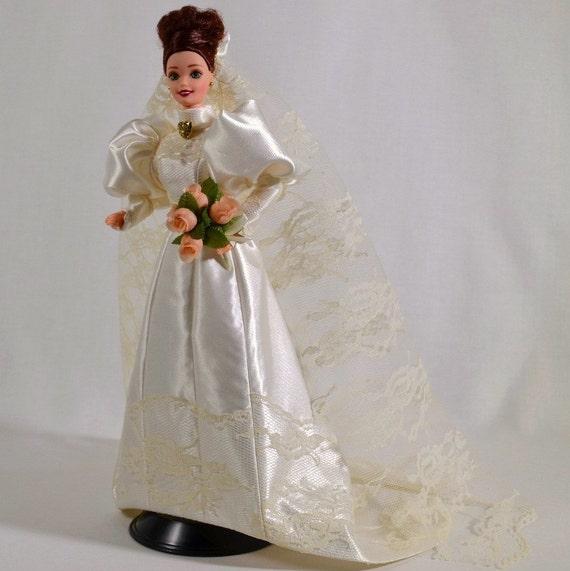 Victorian Bride Historical Barbie Doll Handmade