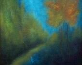 Twilight Traveling - Fine Art Print - Landscape from original oil painting