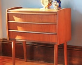 Reserved for An Li Liu ---- Danish Modern Side Table - Mini Dresser