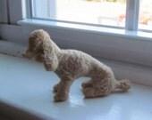 Tan Poodle Figurine