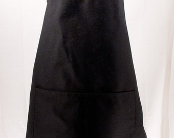 Personalized Mens Apron Black, Monogrammed Apron, Groomsmen Gift, Mens BBQ Apron, Father's Day Gift, Chef Apron, Guy Gift