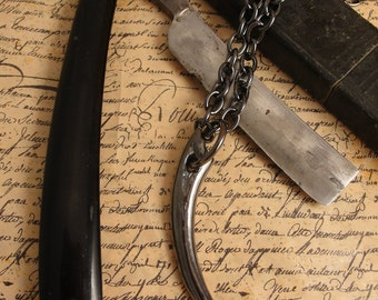 Vampire Jewelry, Men's Vampire Necklace, Vampire Fangs, Goth Necklace,Fang Necklace, Necklace, Gothic Jewelry, Goth Jewelry, Vampire, Goth