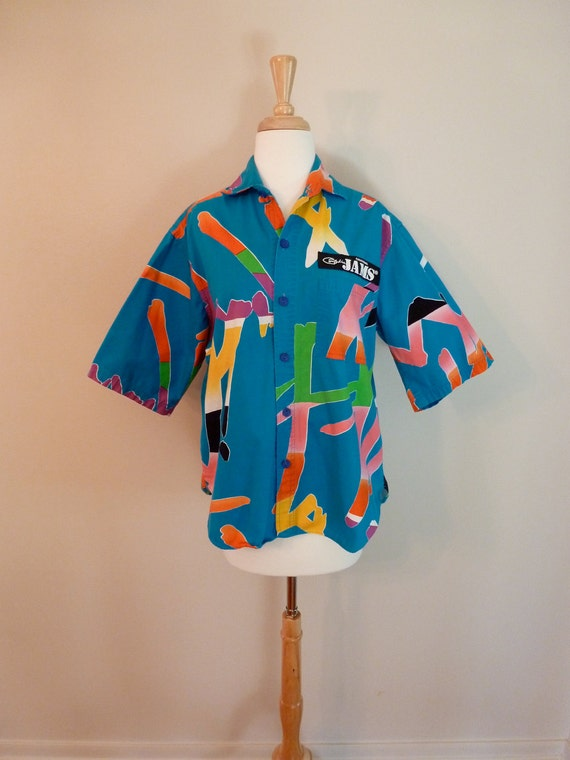 80's Original Jams Surf Line Totally Outrageous Shirt M