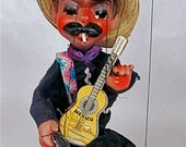 "TREASURY ITEM Mexican Marionette String Puppet Señior, Bandito:  (17"" tall  X  4"" wide)"