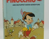 Pinocchio and His Puppet Show Adventure. Walt Disney. SALE - LillysLuckyPenny