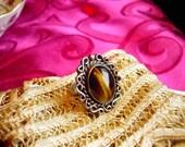 Vintage Navajo Tigers Eye Ring