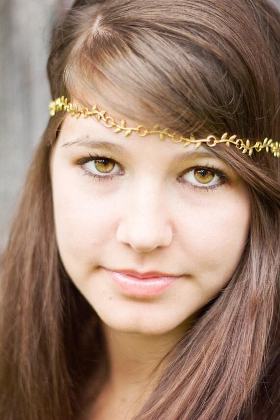 Grecian- Inspired Mini Branches Headband