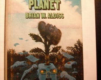 Vintage Sci-Fi Hardcover 'Neanderthal Planet,' by Brian W. Aldiss, Short Stories Collection First Edition