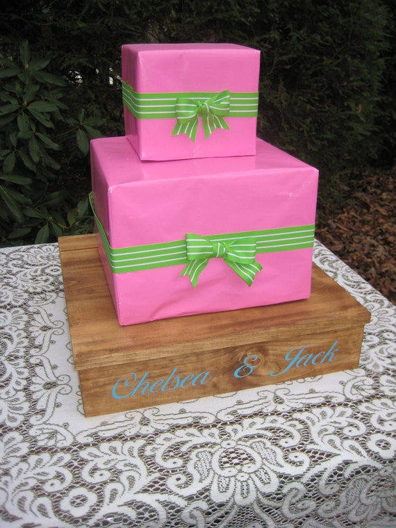 box wedding cake stand unavailable listing on etsy 12115