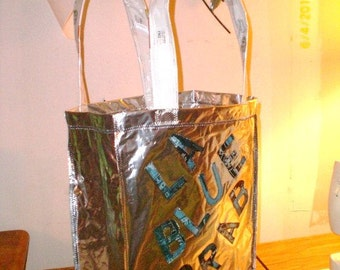Custom Applique lined Tote Carryall